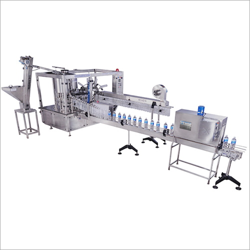 Monoblock Bottle Rinsing Filling and Capping Machine