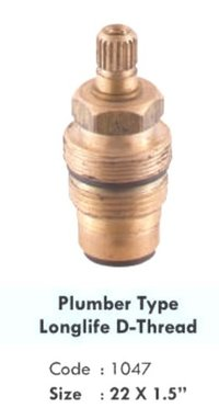 PLUMBER TYPE LONGLIFE D-THREAD