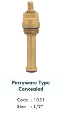 PARRYWARE TYPE CONCEALED