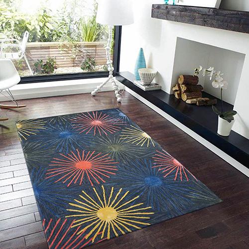 Wool-Viscose Hand Tufted Carpets