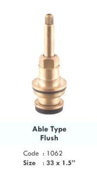 ABLE TYPE FLUSH