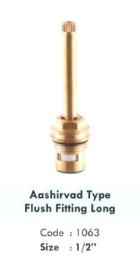 ASHIRVED TYPE FLUSH FITTING LONG