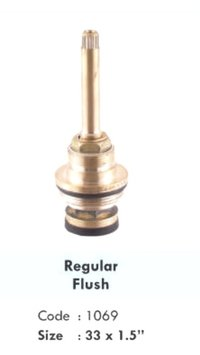 REGULAR FLUSH BRASS SPINDLE