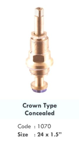 CROWN TYPE CONCEALED
