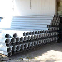 PVC Round Water Pipe