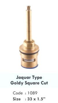 JAQUAR TYPE GOLDY SQUARE CUT