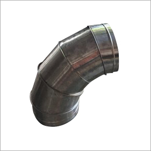 Bend GI Duct Pipe