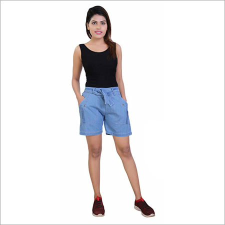 30-30 Cotton Denim Shorts