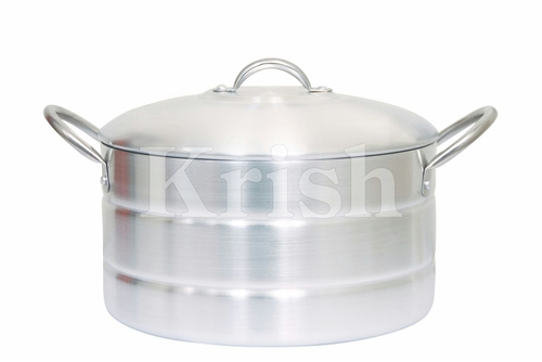 Aluminium Deep Cooking Pots