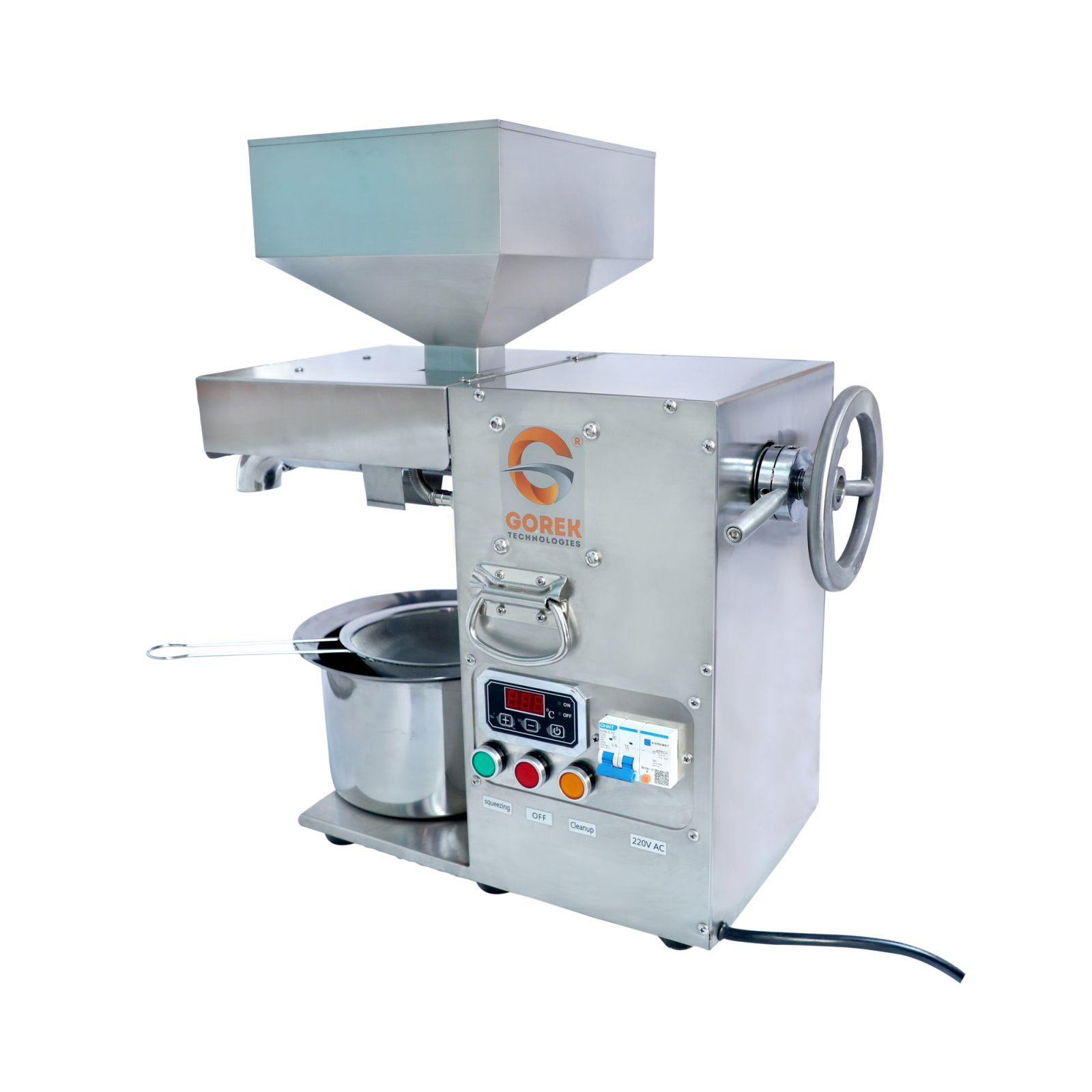 Gorek Oil Making Machine