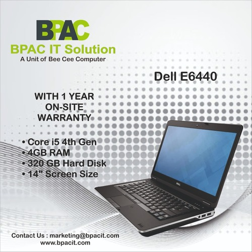 Refurbished Dell Latitude E6440 Laptop