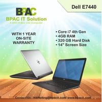 Refurbished Dell E7440 Laptop i7 4th generation