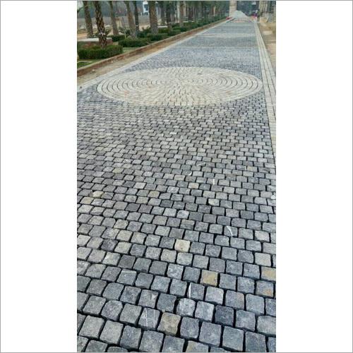 Outdoor Concrete Cobblestone
