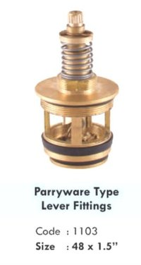 PARRYWARE TYPE LEVER FITTINGS