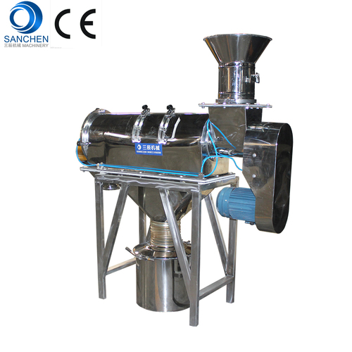 Airflow screen machine