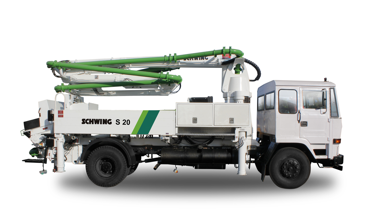 Truck Mounted Concrete Boom Pump S 36 X