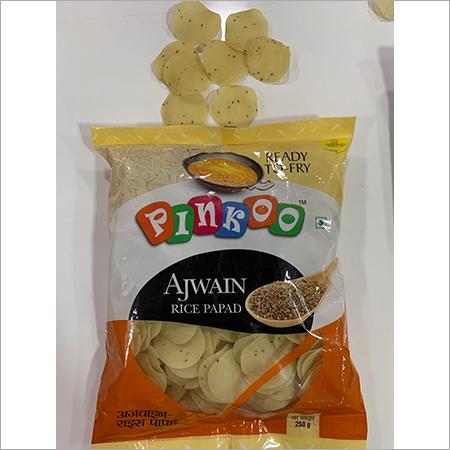pinkoo Ajwain rice papad -250gm