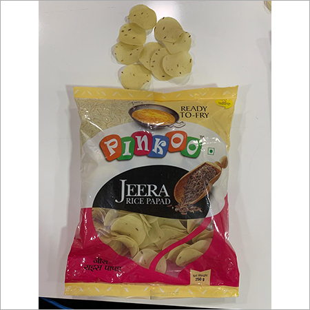 Pinkoo Jeera rice papad-250 gm