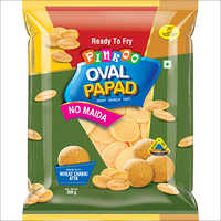 PINKOO OVAL PAPAD NO-MAIDA PURI PACK 200G