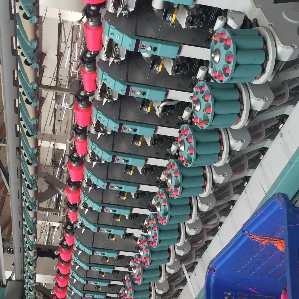 polyester spun yarn melange
