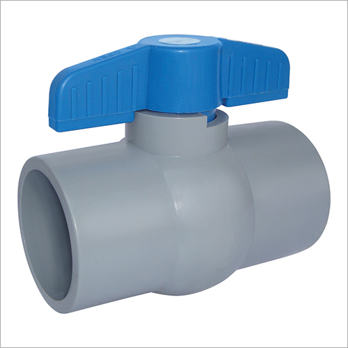 RPVC Short Handle Ball Valve