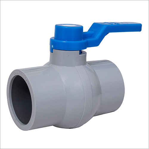 UPVC Grey Long Handle Ball Valve