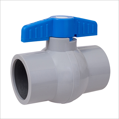 UPVC Grey Solid Ball Valve