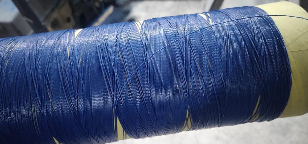 COLORED PVC COATED YARN FOR OUTDOOR PRODUCTS