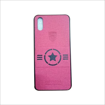 Pink Mobile Back Cover