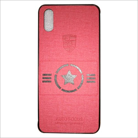 Pink Leather Mobile Covers