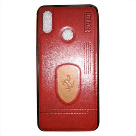 Red Leather Mobile Covers
