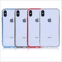 Transparent Plain Apple Mobile Covers