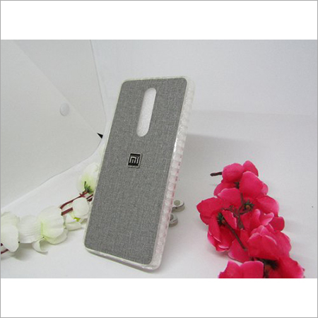 Mobile Cover With Denim Texture