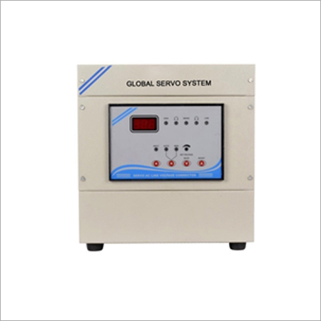 8 KVA Air Cooled Servo Voltage Stabilizer