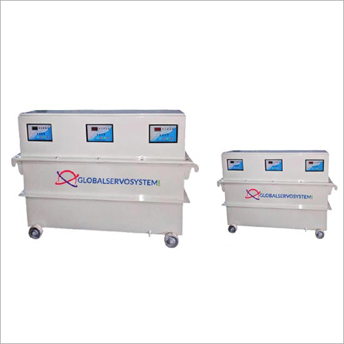 Three Phase - Oil Cooled Servo Stabilizer