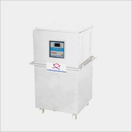 Single Variac Digital Servo Voltage Stabilizer