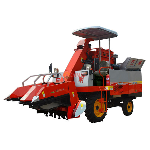 Two Rows Maize Harvester