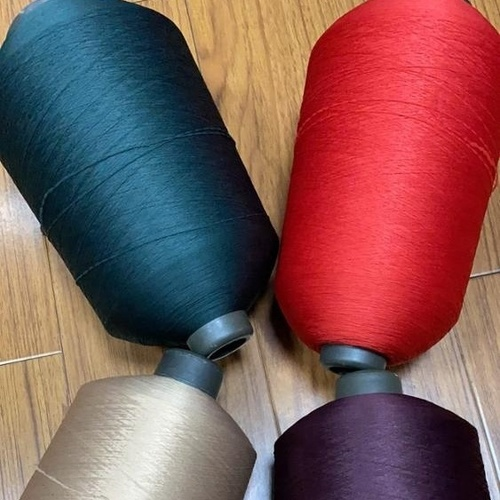 Polyester 75D/36F/2 high stretch yarn