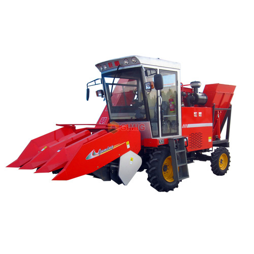Three Rows Maize Harvester