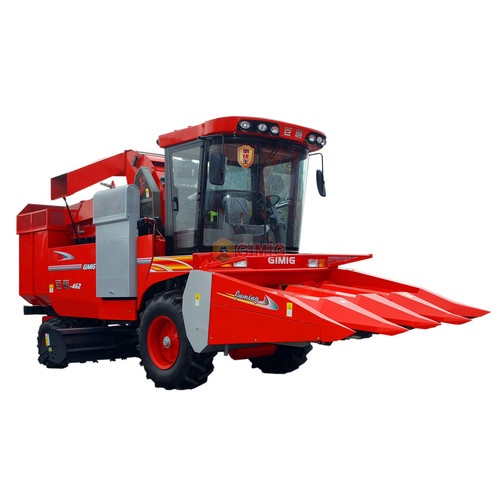 Four Rows Maize Harvester