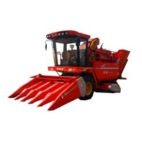 Five Rows Maize Harvester
