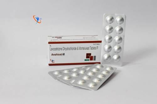 Montelukast Sodium 10mg + Levocetirizine Dihydrochloride 5mg   Tablet
