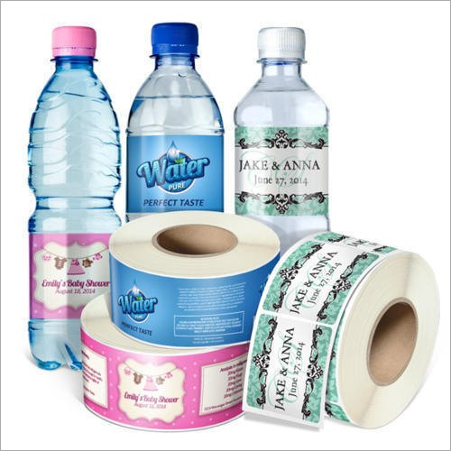 Water Bottle PVC Shrink Labels