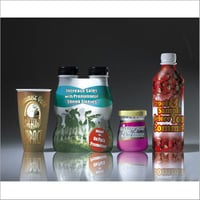 Food Containers Shrink Labels