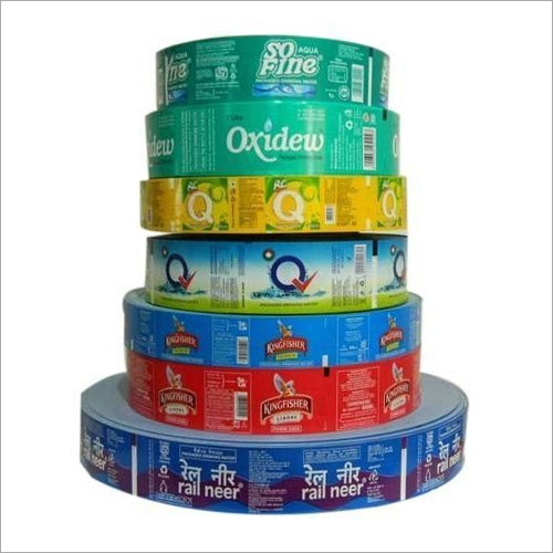 BOPP Wrap Customise Printed Round Labels