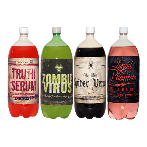 PVC Shrink Labels For Soda Bottles