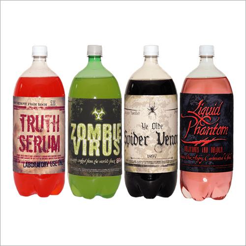 PVC Shrink Labels For Soda Bottles