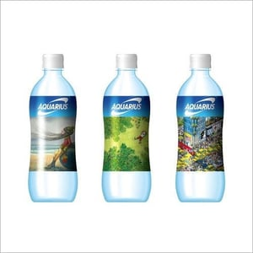 Shrink Labels For Water And Beverages Bottles