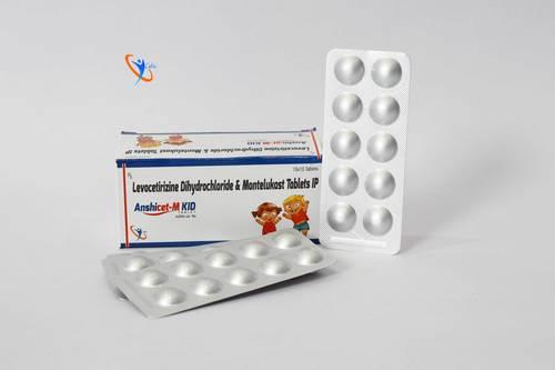 Montelukast Sodium 4mg + Levocetirizine Dihydrochloride 2.5 mg Tablet