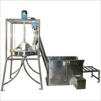 Flour Sifter with Dual Screw Elevator